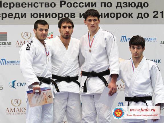 Adlan Eskirkhanov au championnats de Russie Juniors 2013