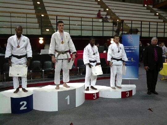 Dylan Roche aux Championnats de France Cadets 2013