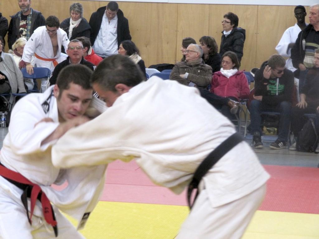 Kevin Villemont aux  championnats de France Judo Handisport 2014