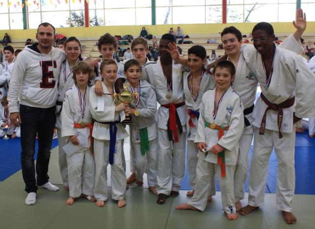 Sucy Judo 2 au GP de la ville de Saint-Maurice