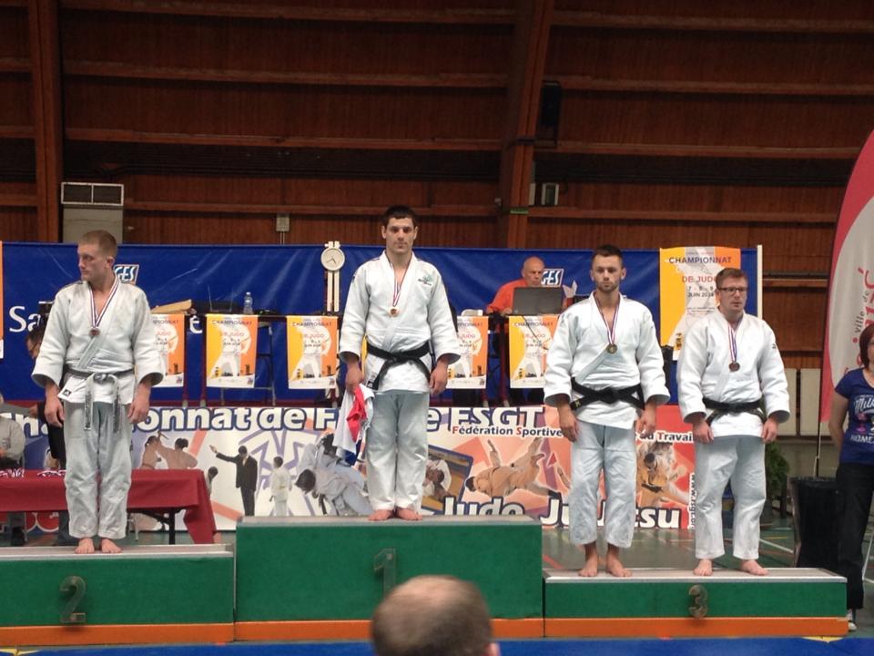 Ludovic Cavallera aux championnats de France FSGT 2014