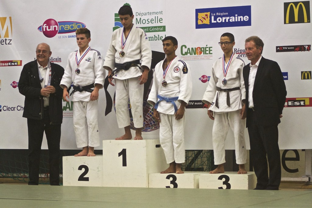 Lancelot Lecomte au tournoi de Metz 2014