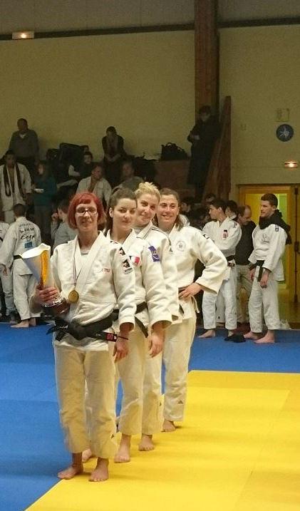 Equipe Sucy Judo féminine