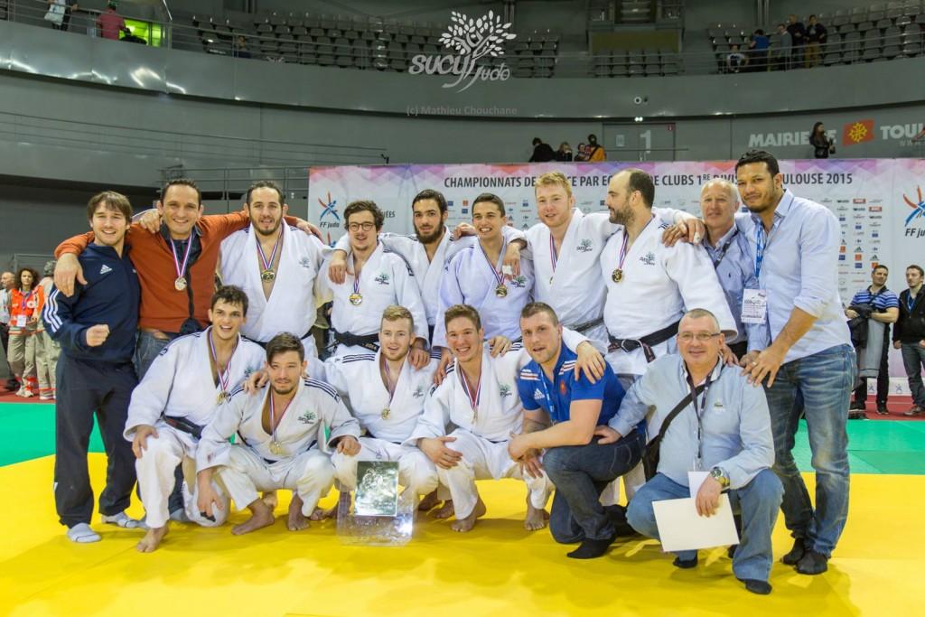 Equipe Sucy Judo 1D à Toulouse 2015