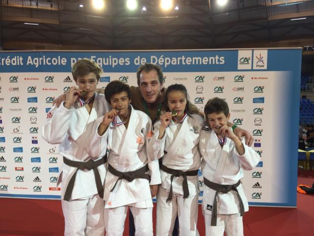 Les judokas de Sucy Judo aux CDF par équipes de départements