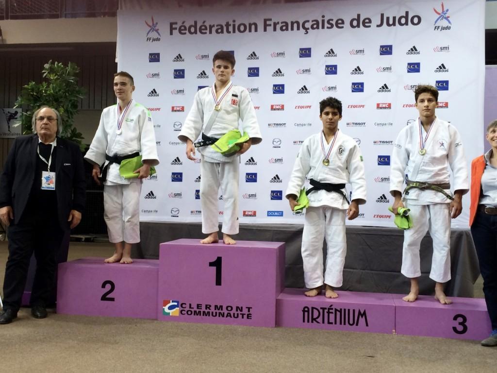 Lancelot Lecomte à la Coupe de France cadets 2015