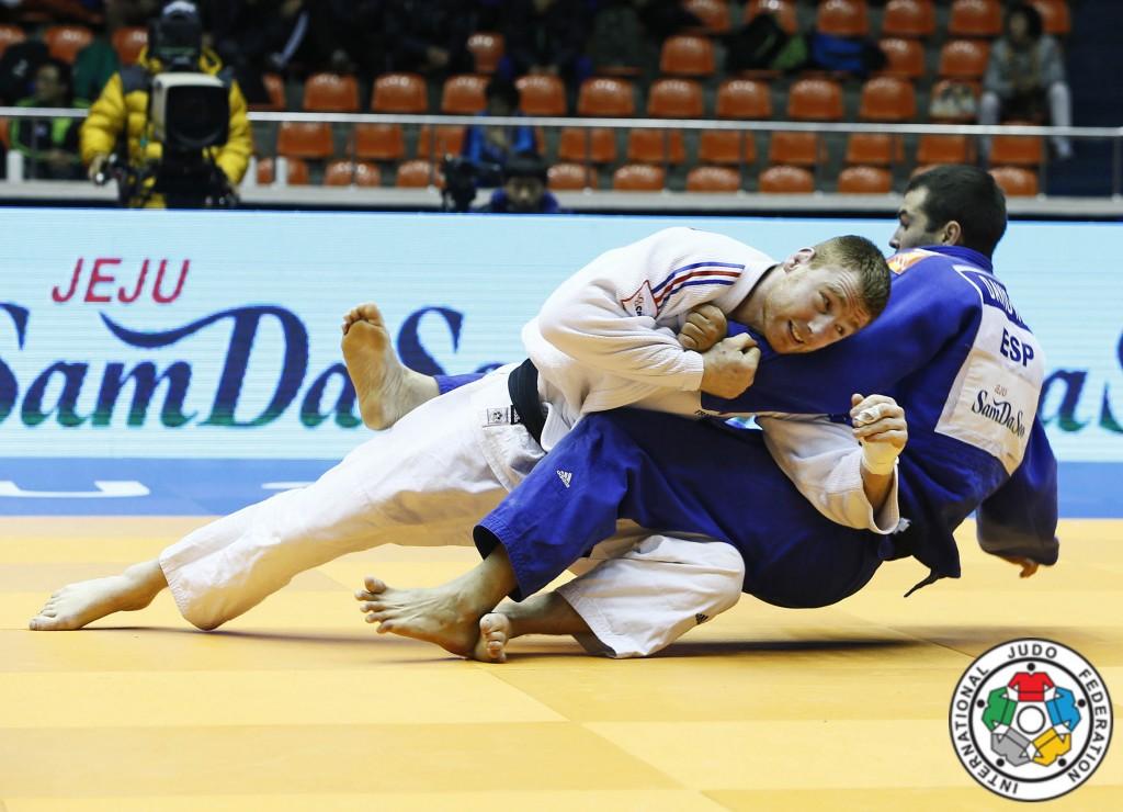 Axel Clerget au Grand Prix de Jeju 2015 - © IJF Media par G. Sabau