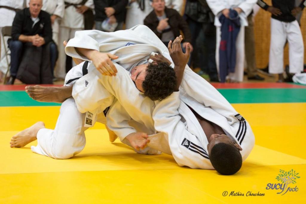 Adama Mansita à la demi fInale du championnat de France cadets 2016 - Crédit : Mathieu Chouchane