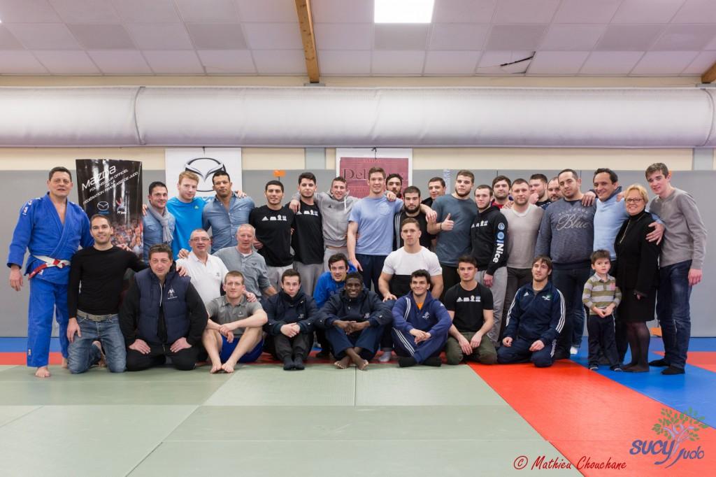 Sucy Judo et l'OJ Nice au Judo Club de Gerland - Crédit : Mathieu Chouchane