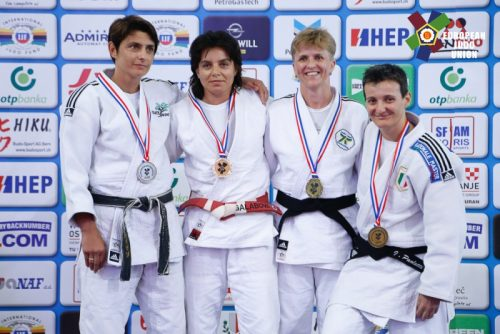 Karine Paillard. Photo : European Judo Union / Photographe : Emanuele Di Feliciantonio