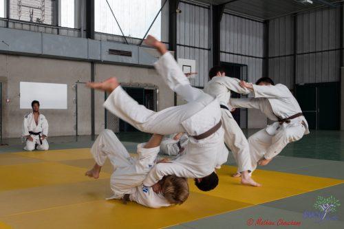 Stage de pré-rentrée Sucy Judo 2016 - Crédit : Mathieu Chouchane
