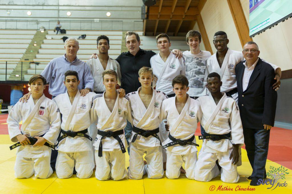 L'équipe cadette au championnat de France cadets