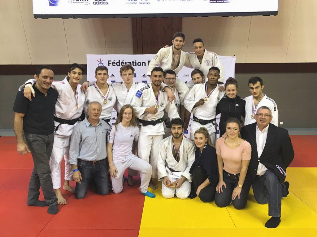 L'équipe junior au championnat de France