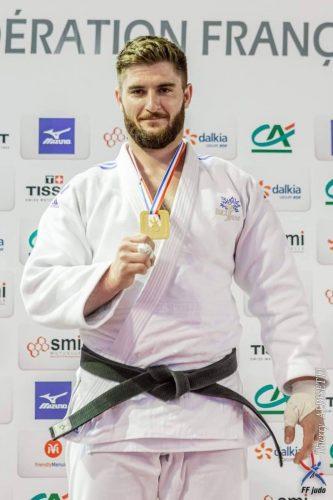 Joseph Terhec au championnat de France 2e division 2019 - Crédit : Thierry Albisetti / FF Judo