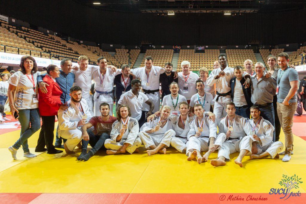 Championnat de France 1re division par équipes 2019